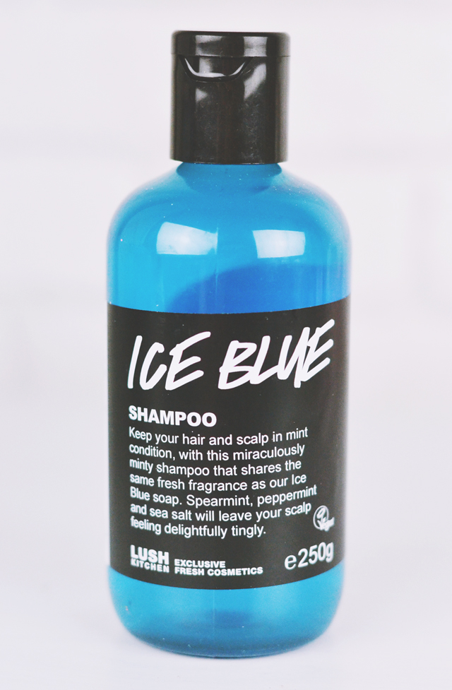 Lush Ice Blue Shampoo Review