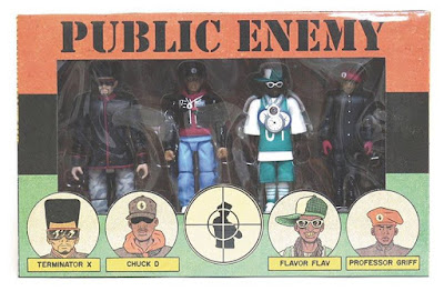 Public Enemy Action Figure Box Set by Presspop inc. & Ed Piskor