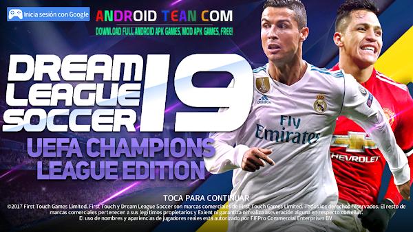 Dream League Soccer 2019 Mod UEFA Champions League Offline for Android