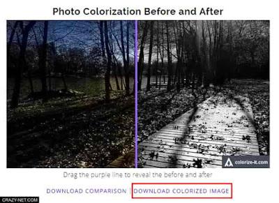 طريقة تلوين الصور الابيض و الاسود بدون برامج