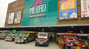 Directions on Web: New Jeepney & FX Terminal In BGC Market! Market!