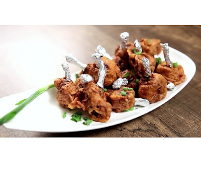 How to make chicken lollipop at home