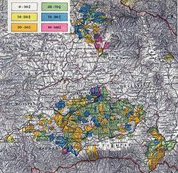 Situaţia satelor săseşti la recensământul din 1890.