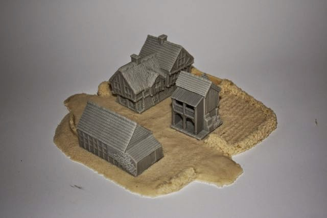 Total Battle Miniatures, 10mm Terrain | Miniature Review