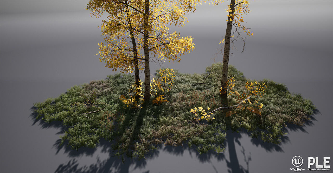 Procedural Landscape Ecosystem for UE4 | Computer Graphics Daily News
