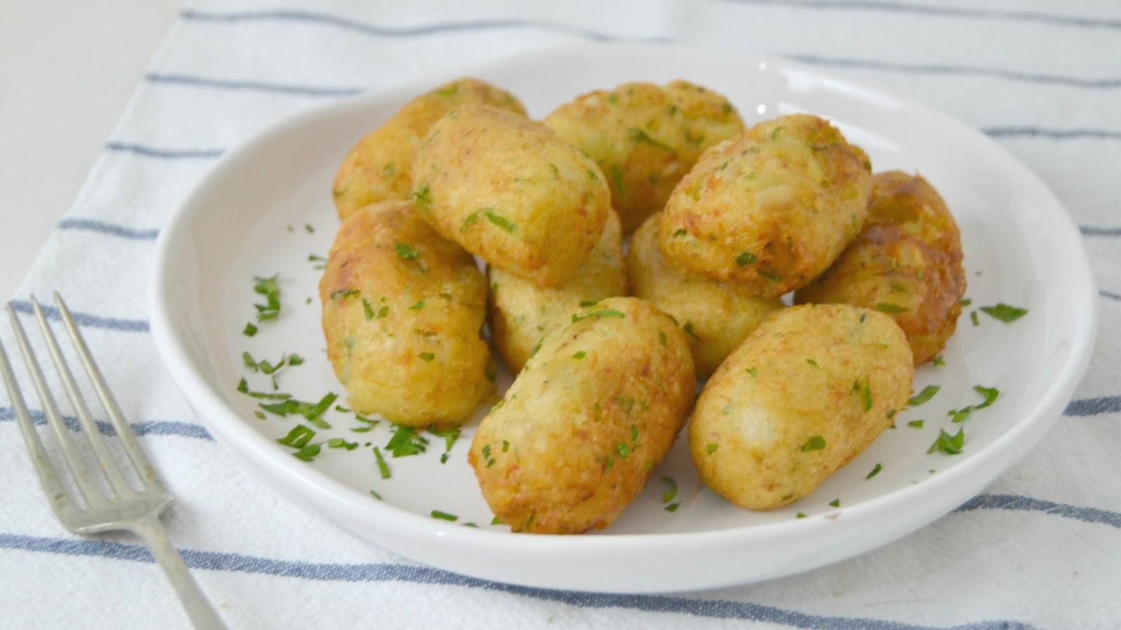 Alb ndigas de bacalao y patata cuuking recetas de cocina - Patatas en caldo con bacalao ...