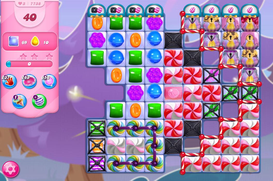 Candy Crush Saga level 7738