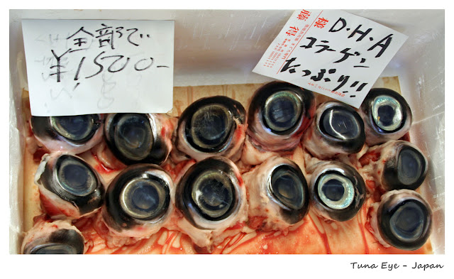 Top 10 Weirdest Food in Asia - Tuna Eye - Japan | Ramble and Wander