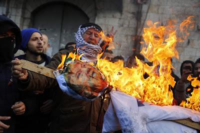 اشتباكات في فلسطين