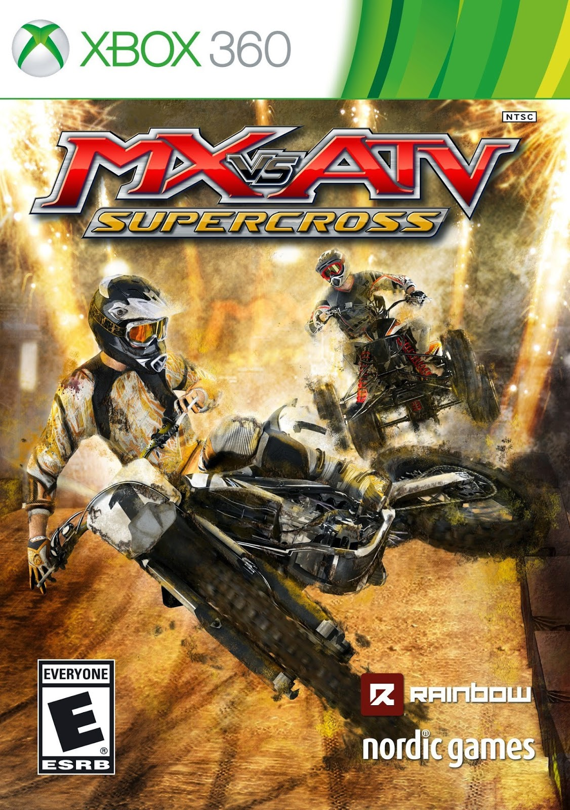 Mx Vs Atv Supercross Multilenguaje Espanol Xbox 360