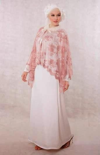 Model Busana Muslim Brokat Pengantin Wanita