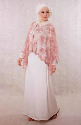 Baju Muslim Bahan Brokat Modern Terbaru