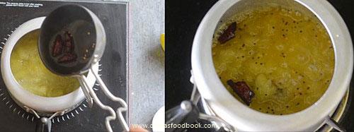 Mango pachadi with sugar