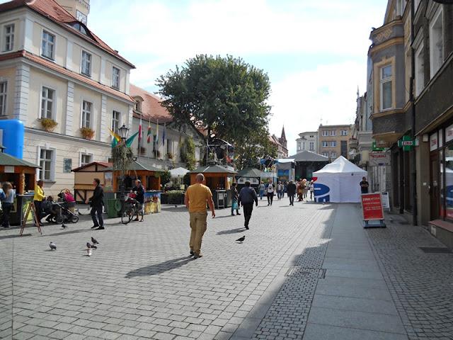 bruk, Zielona Góra, Winobranie, ulice