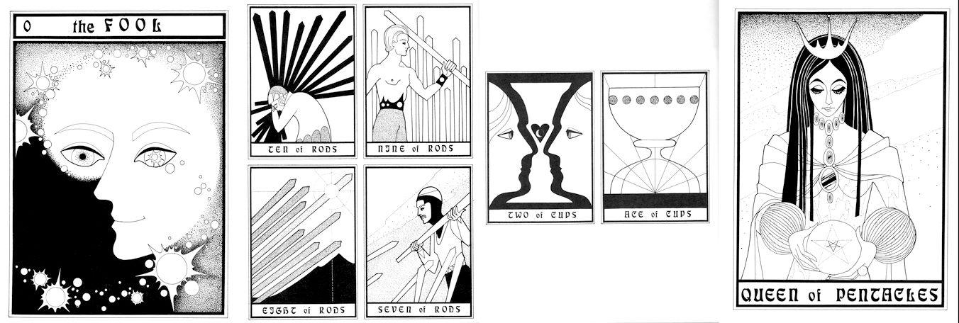 The Tarot Design Coloring Book By Caren Caraway
