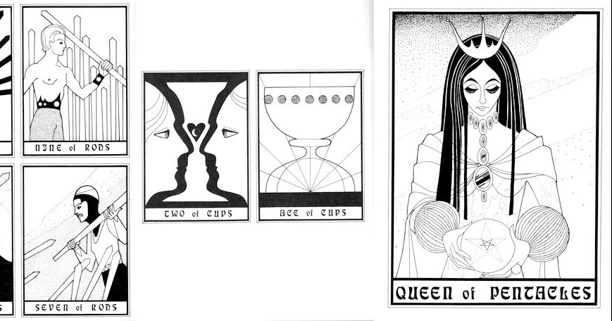 Mr La Lunas Tarot Blog The Design Coloring Book By Caren Caraway
