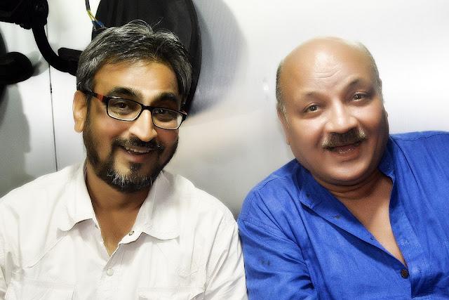 Camaal Mustafa Sikander with Aroon Bakshi