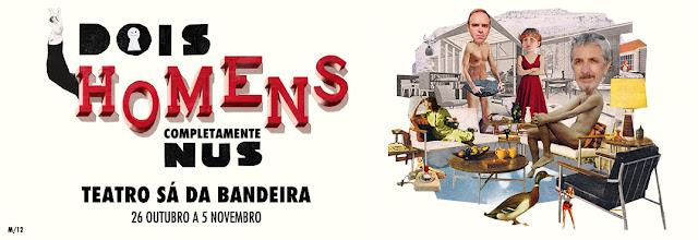 VENCEDORES PASSATEMPO | Espetáculo 'Dois Homens Completamente Nus'