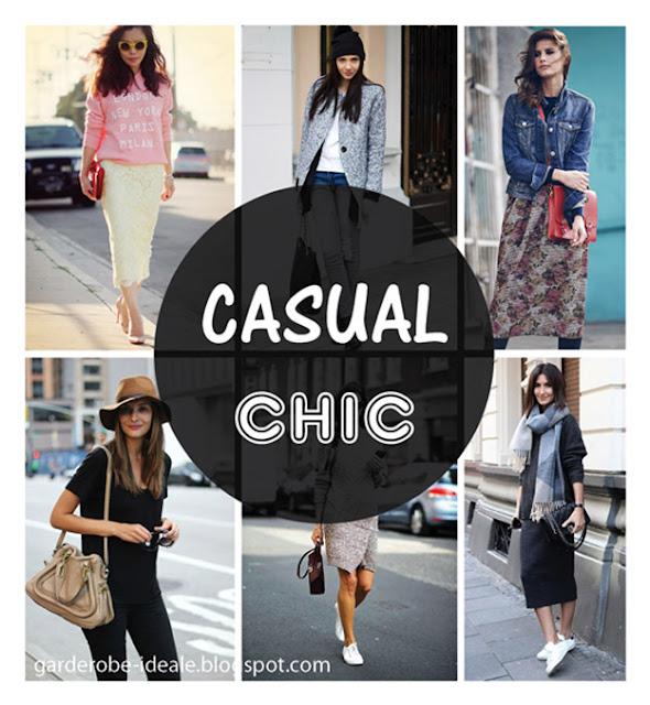 Стиль casual chic