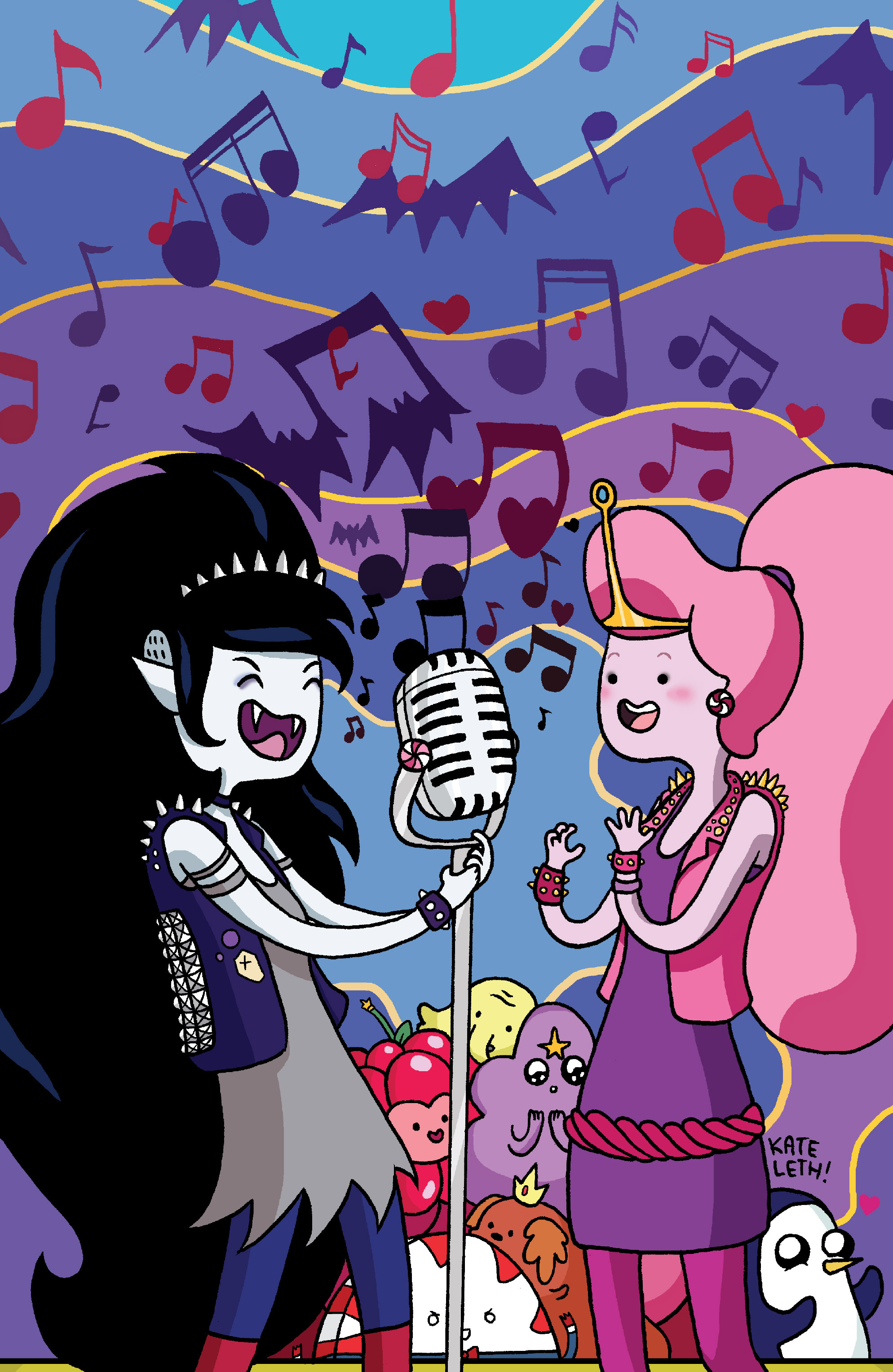 Read online Adventure Time: Marceline and the Scream Queens comic -  Issue #5 - 3