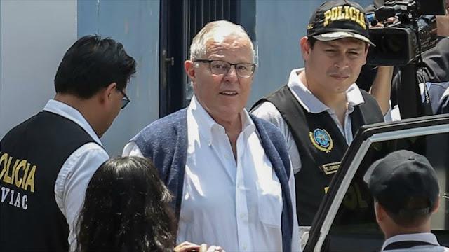 Policía peruana detiene a expresidente Kuczynski por caso Odebrecht