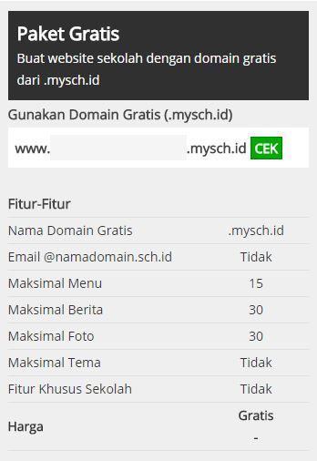 Cara Membuat Website Resmi Sekolah Gratisan di MySch.id