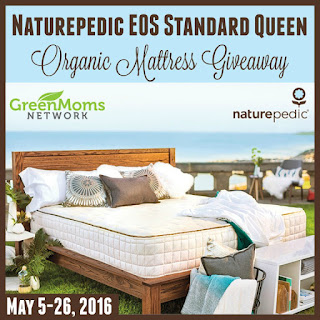 Enter the Naturepedic Organic Mattress Giveaway. Ends 5/26