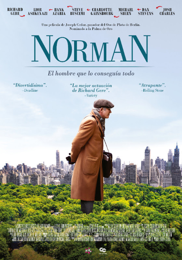 Norman-película-Richard-Gere