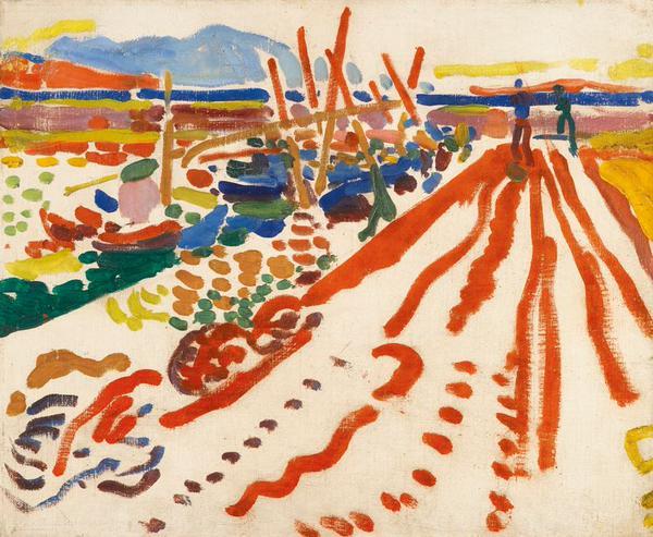 """LA jetee a L'Estaque"", 1906, Andre Derain_psartworks.in"