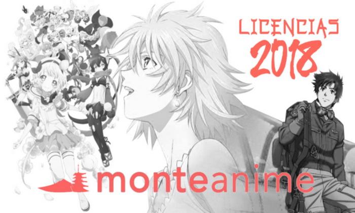 Licencias Monte Anime 2018