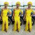 Trendy Aso Ebi Yellow Gown Styles