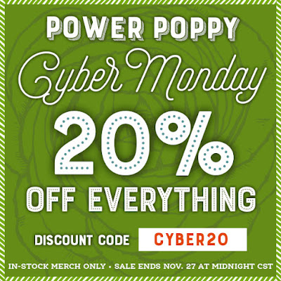Power Poppy by Marcella Hawley - Storewide Sale Cyber Monday 2018