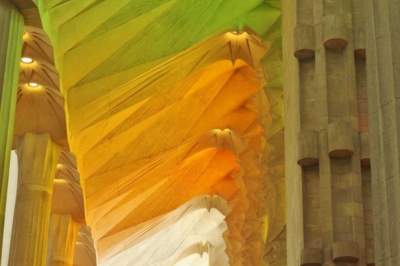 Sagrada Familia Colours