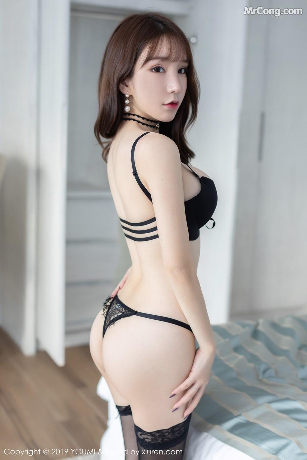 YouMi Vol.395: Zhou Yuxi (周 于 希 Sandy) (58 photos)