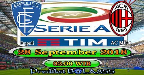 Prediksi Bola855 Empoli vs AC Milan 28 September 2018