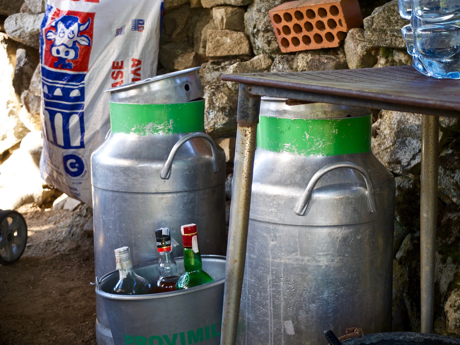 Cantaras de leche, El Barraco 2015