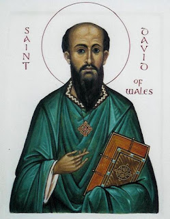 Saint David, Patron of Wales