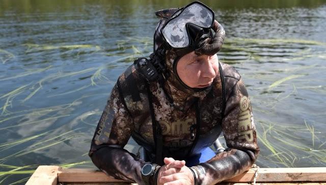 Putin, Sibéria
