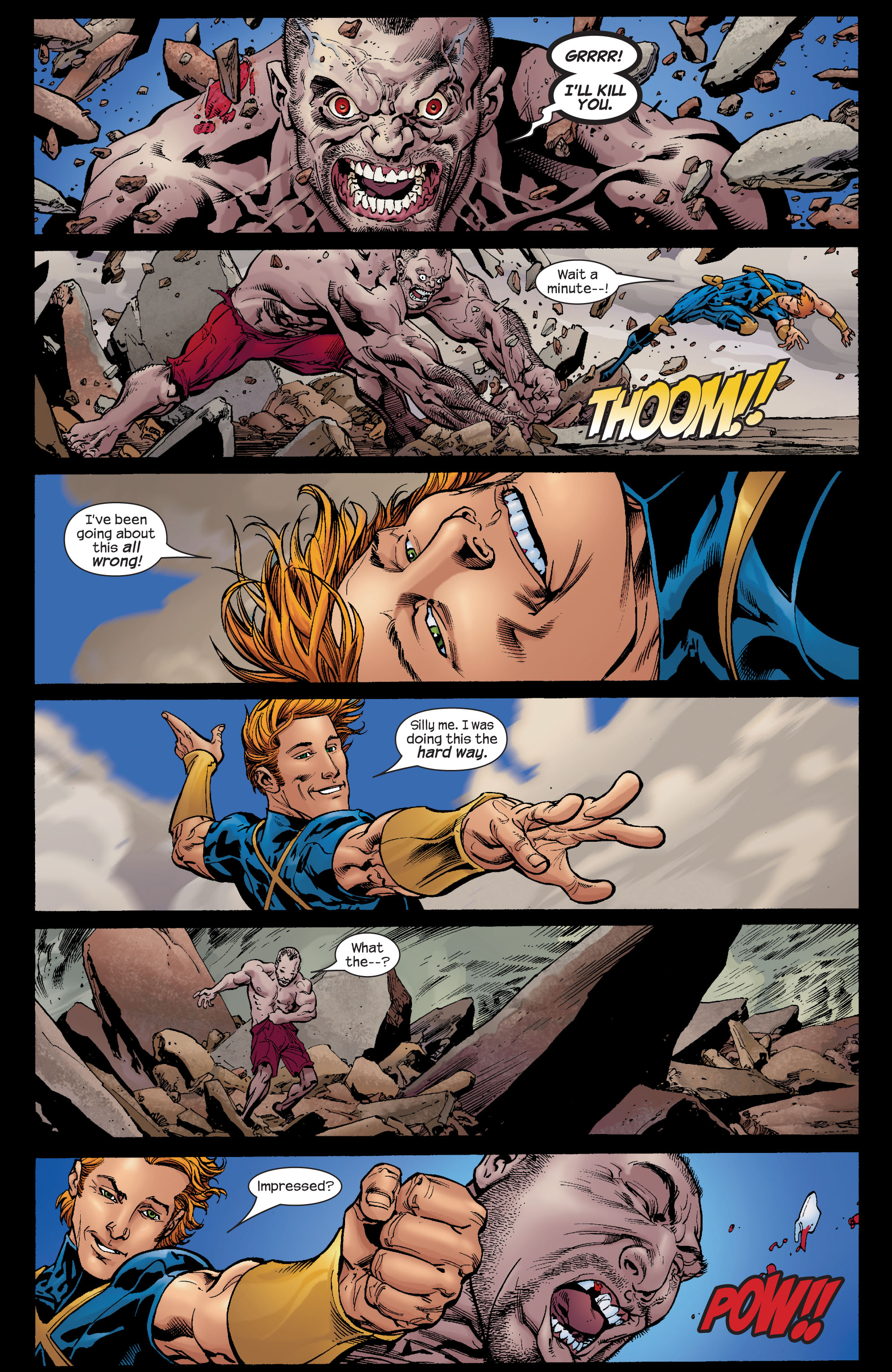 Read online Ultimate X-Men comic -  Issue #72 - 17