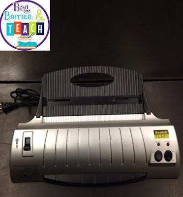 Teacher must-have items: Personal Laminator