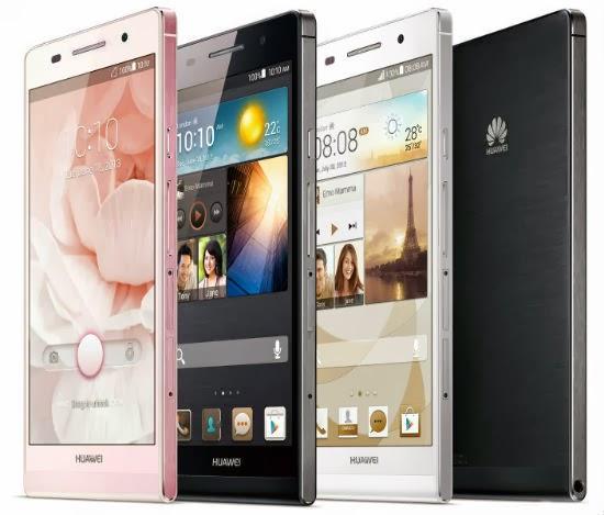 Huawei Ascend P6, Smartphone Tertipis di Dunia
