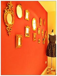 espelhos rococos