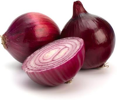 spanish onions, red onions
