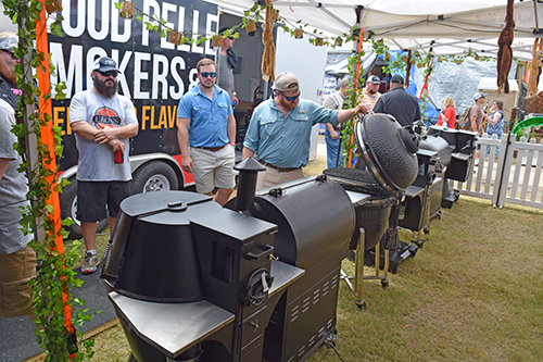 Grilla Grills Memphis In May World Championship BBQ Cooking Contest 2017