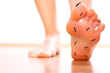 Gejala,Obat Kesemutan untuk telapak kaki dan Tangan