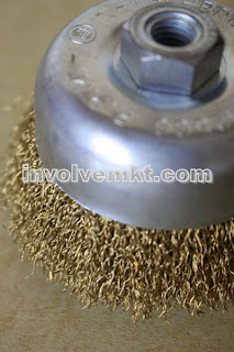 brass wire cup brush Malaysia, Singapore, Thailand