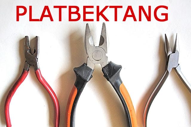platbektang - flat nose pliers