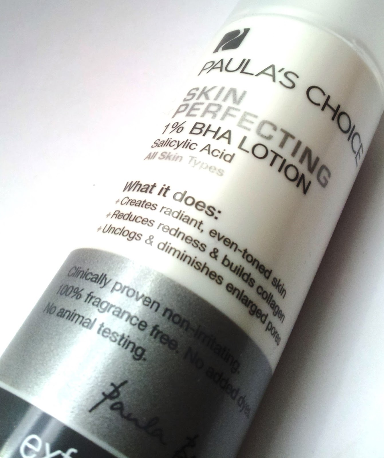 Paula's Choice: Skin perfecting 1% BHA Lotion