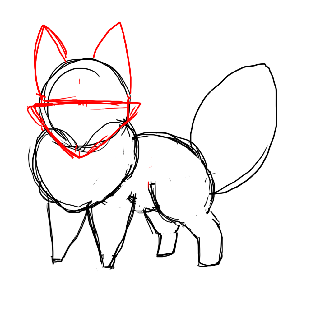 How To Draw A Chibi Fox Draw Central