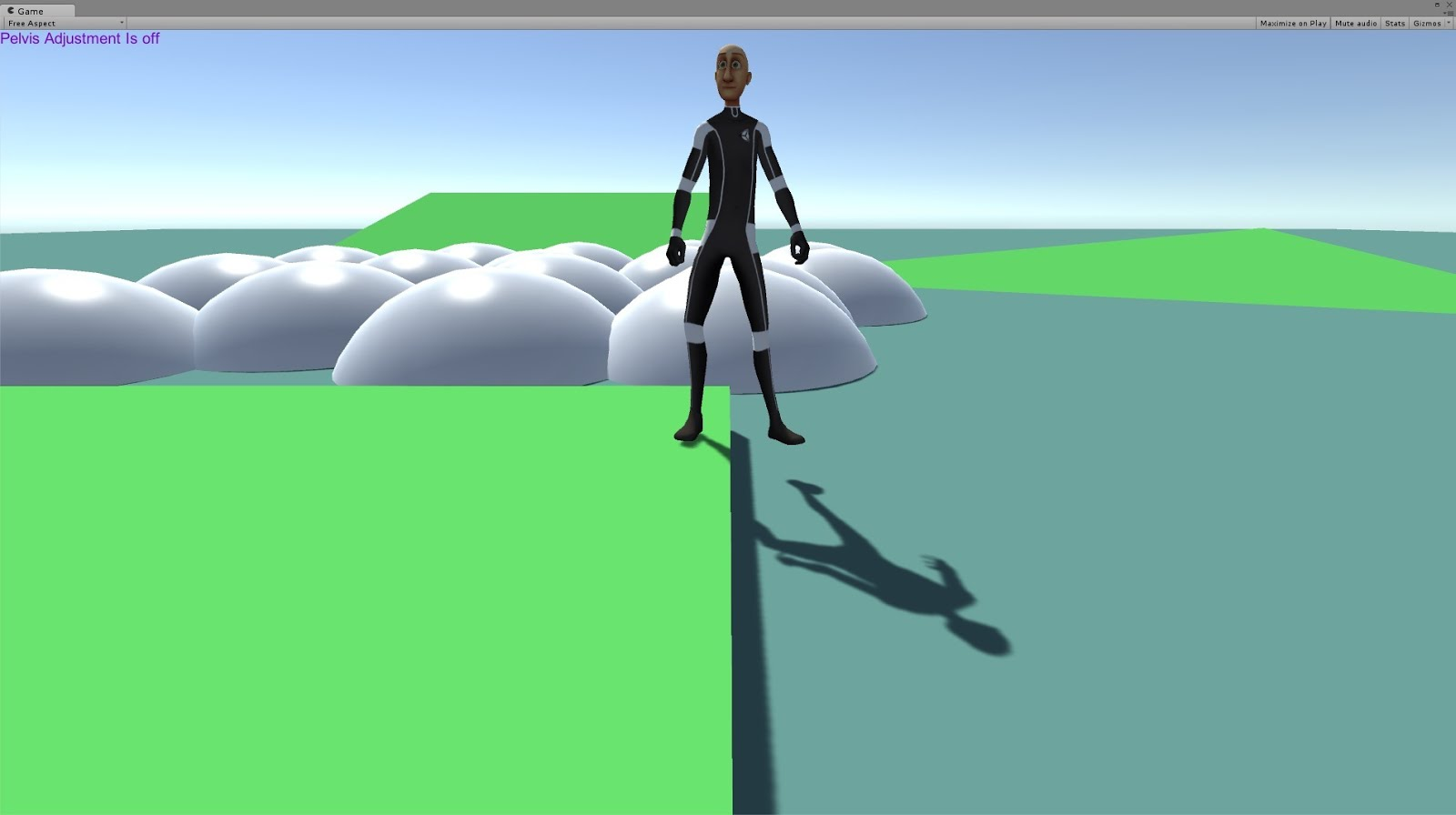 AnimMotion: Foot Placement Using Foot IK